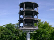 Whelen Outdoor Warning Siren System - Skidmore College WPS2903